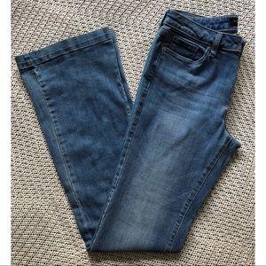Banana Republic wide leg jeans sz 28/6